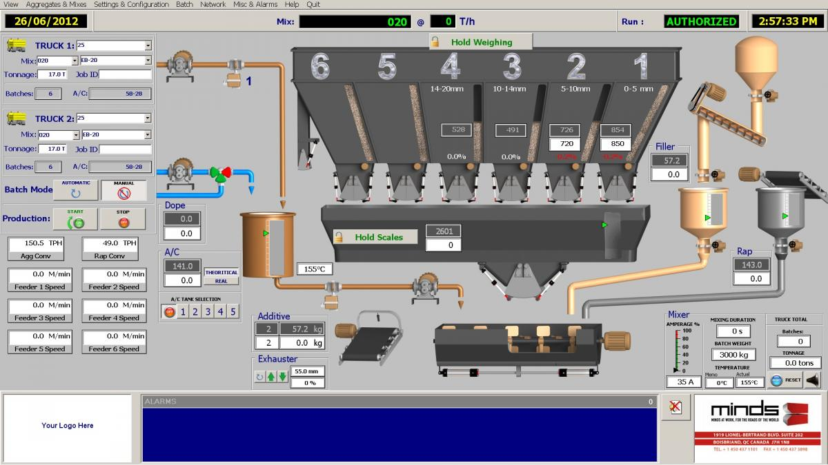 BatchTronic plant operations software