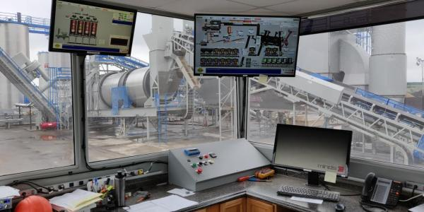 MINDS' DrumTronic plant control system, pictured, offers a preview of what full automation might look like for asphalt plants. The Future of Automation Technology in Asphalt Plants MINDS Inc