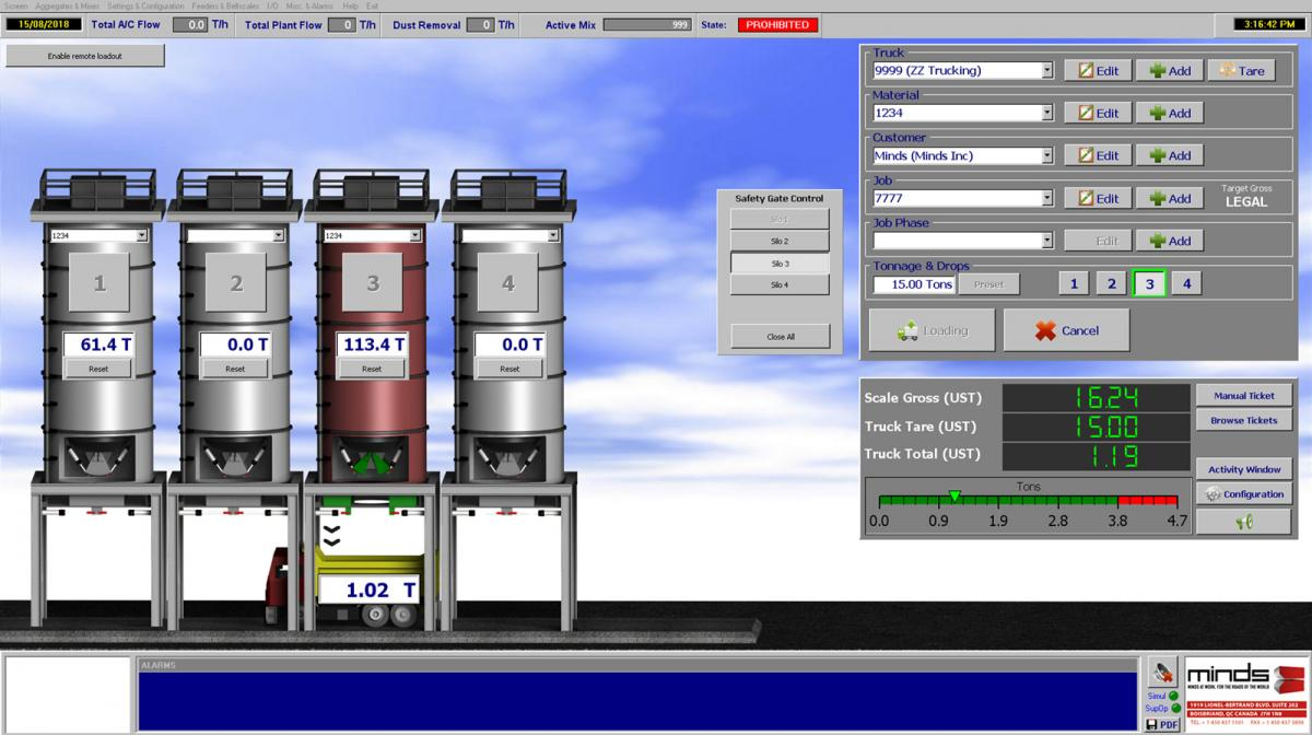 Integrates seamlessly into our Plant Production software